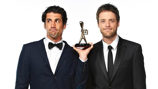 Gold Logie Countdown Hamish and Andy