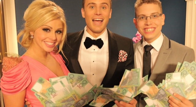 Candice and Nick Win Beauty And The Geek Australia
